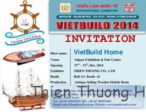 Invitation Vietbuild Home